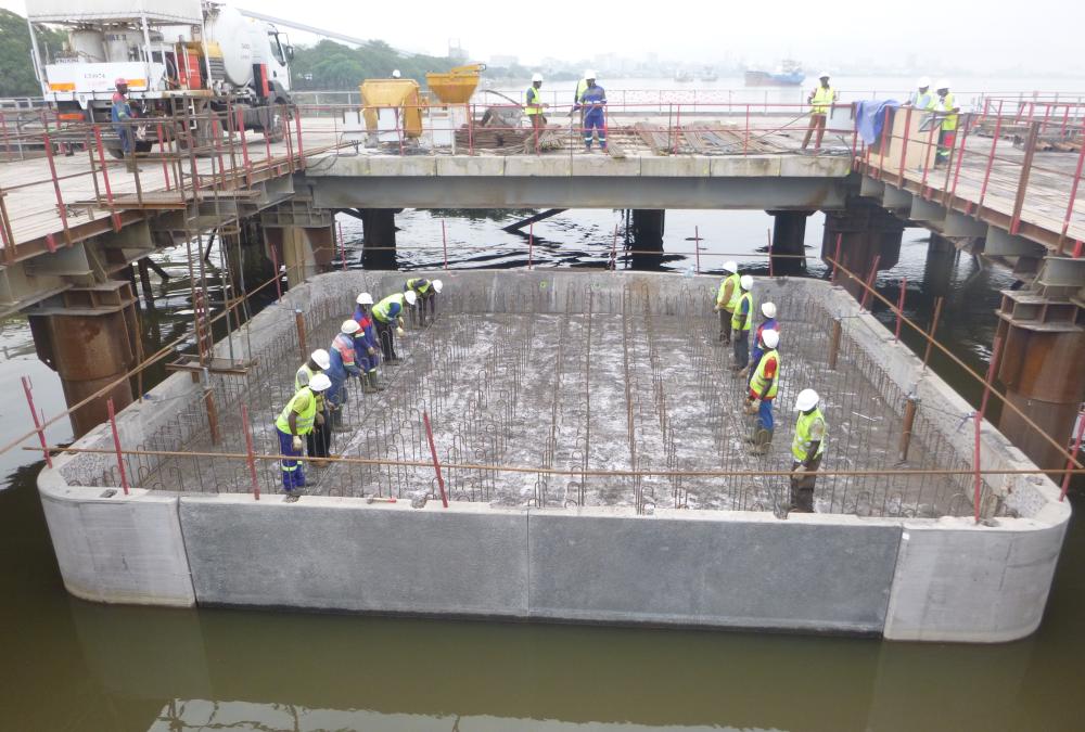Second pont sur le Wouri – Accès au pont – Douala (Cameroun)