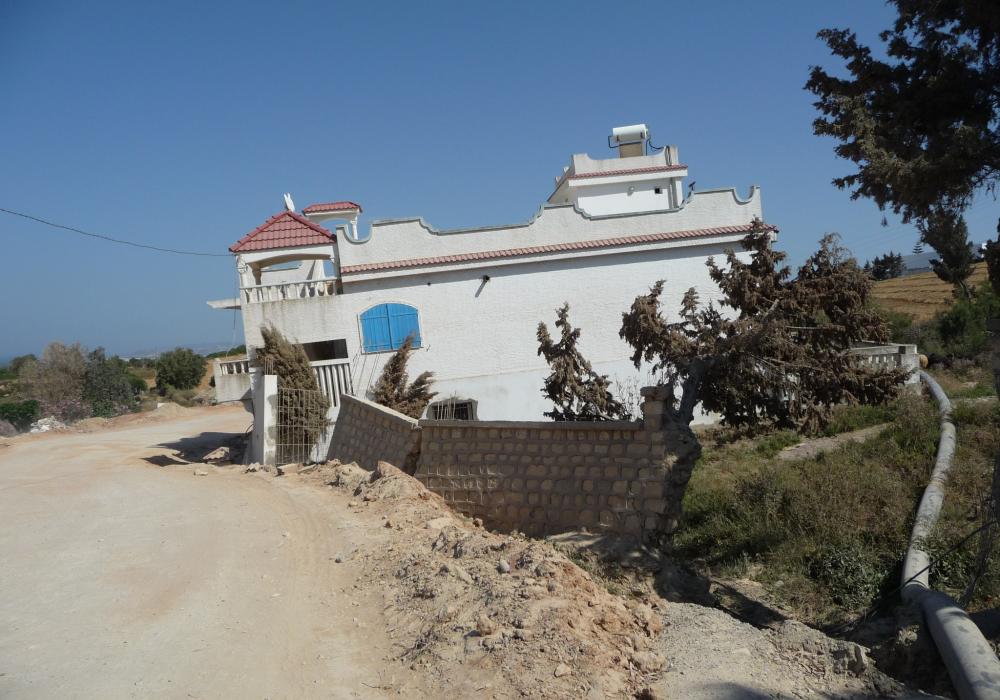 Points de glissements de terrains – Tunisie