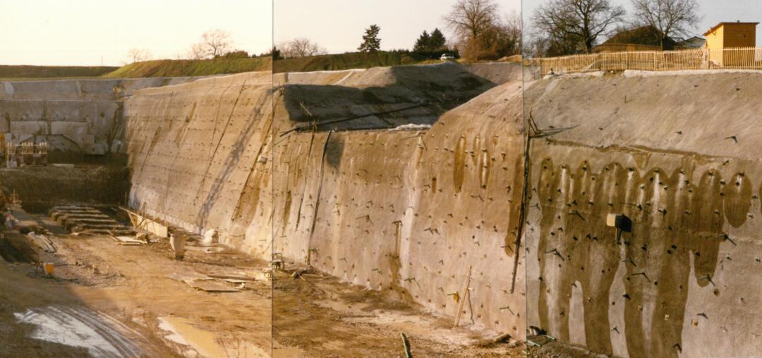 1987-1993 Tunnel de Confignon à Genève