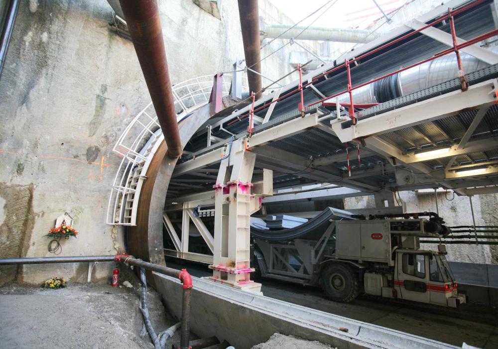 Tunnel du Mont Sion – Autoroute A41 Nord – Section Genève – Annecy (74)