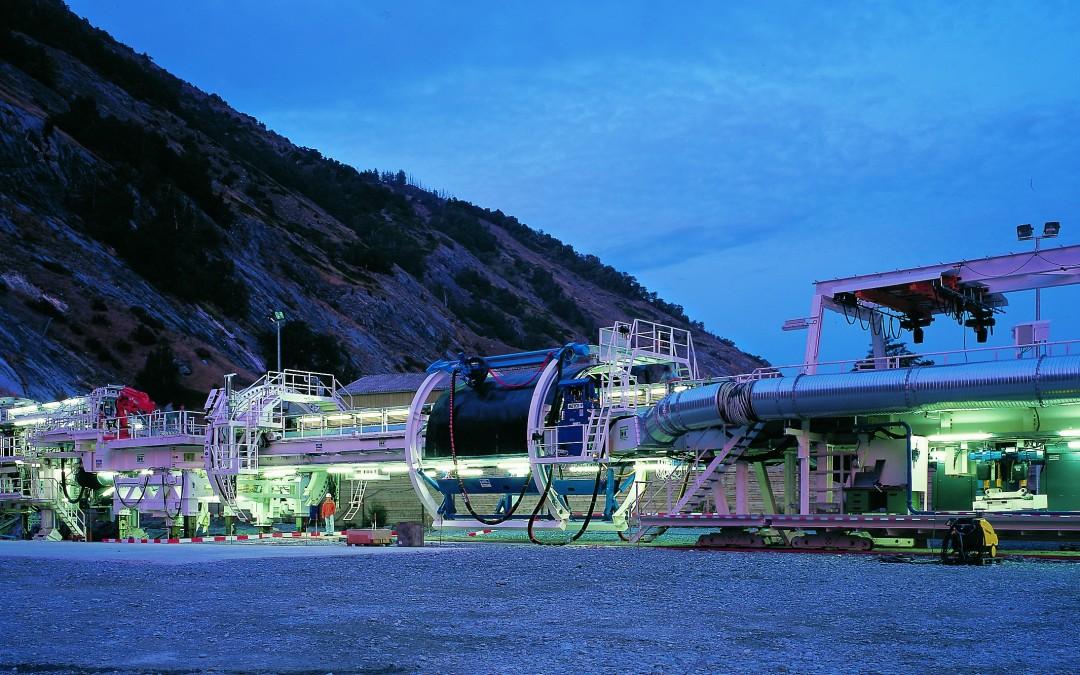 1999-2004 Tunnel du Loetschberg en Suisse
