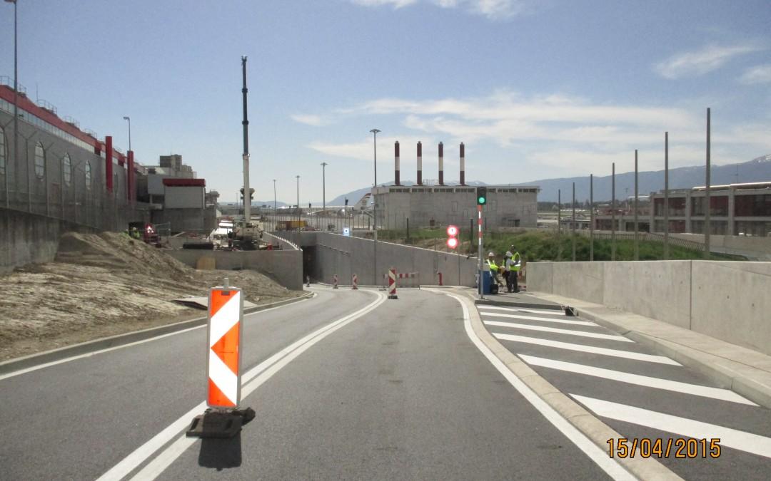 Depuis 2011 – Projet de l'Aile Est de l'Aéroport de Genève