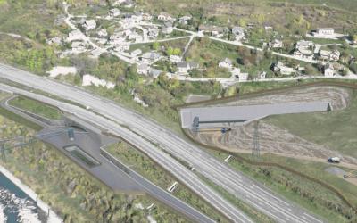 Démarrage des études PRO de la tranchée couverte de Saint-Julien Mont Denis