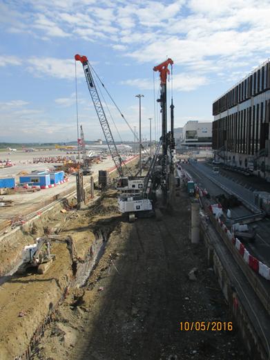 Démarrage du chantier BAT  1 – Avril 2016