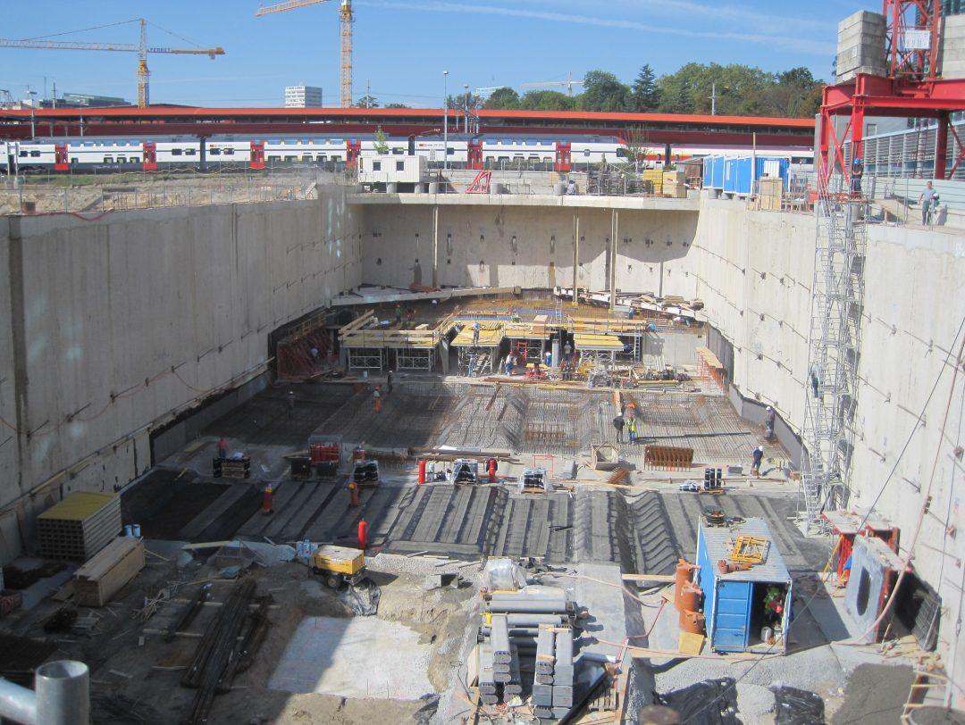 Parking souterrain – Organisation Mondiale du Commerce (OMC) – Suisse
