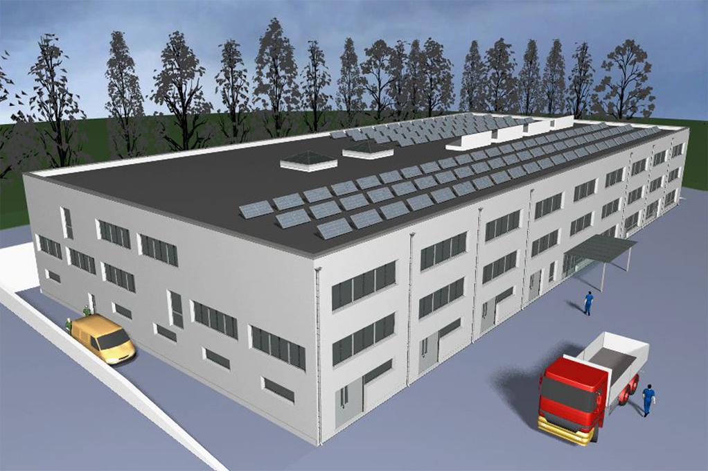 Bâtiment de stationnement de troupe – Meyrin (Suisse)