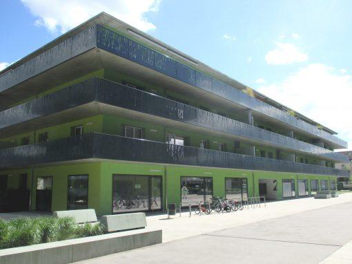 Immeuble d'habitation «Coupe Gordon Bennett» – Bâtiment E – Vernier (Suisse)