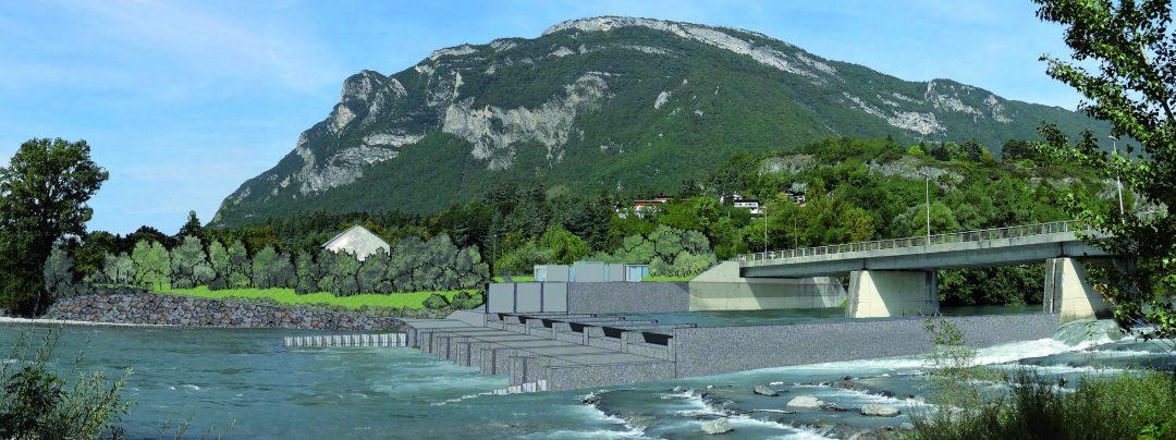 Centrale hydroélectrique de Chavort (38) – France