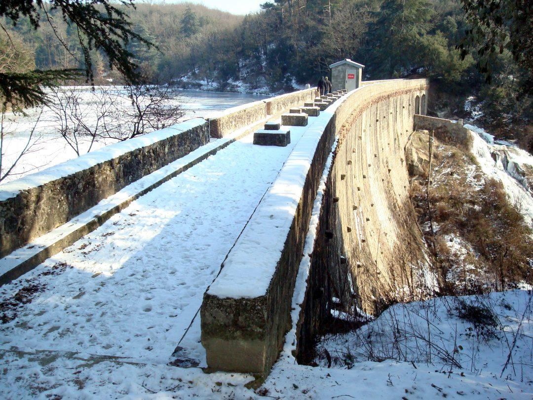 Barrage de Cenne Monesties (11) – France