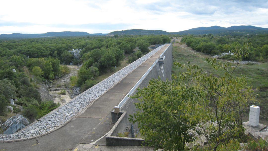 Barrage de Conqueyrac (30) – France