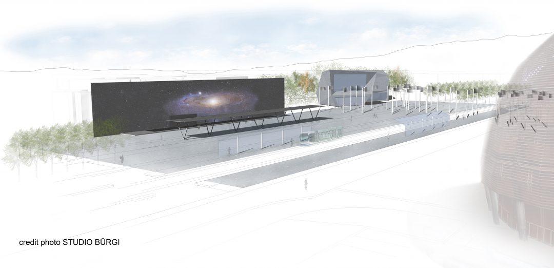 CERN – Esplanade des Particules – Meyrin – Suisse