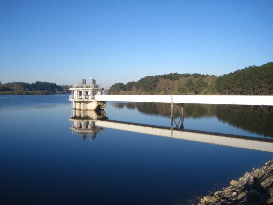 Barrage de la Chèze (22) – France