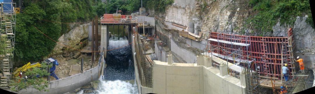 Barrage usine des Moulinets – Orbe (Suisse)