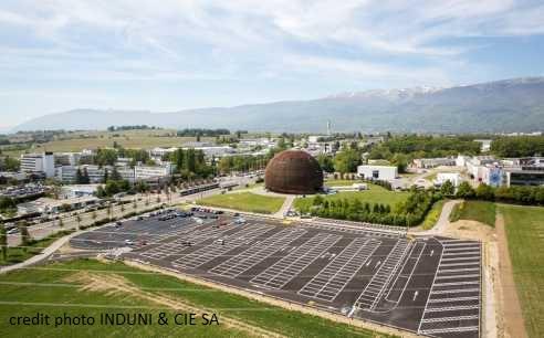 CERN – Parking Globe – Meyrin (Suisse)