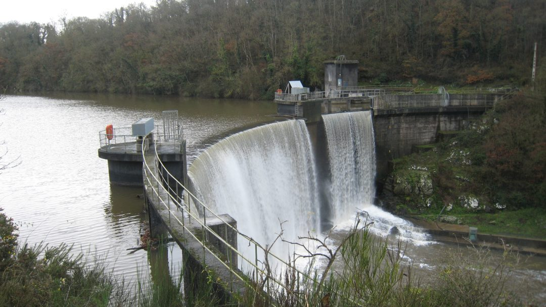 Barrage de Pont Rolland (22) – France