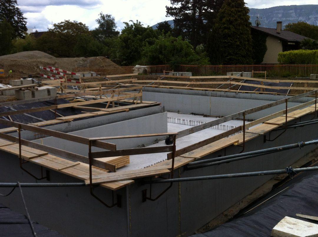 Plan Localisé de Quartier Pré-Longet/Les Mouilles – Bassin de rétention d'eaux pluviales – Onex – Suisse