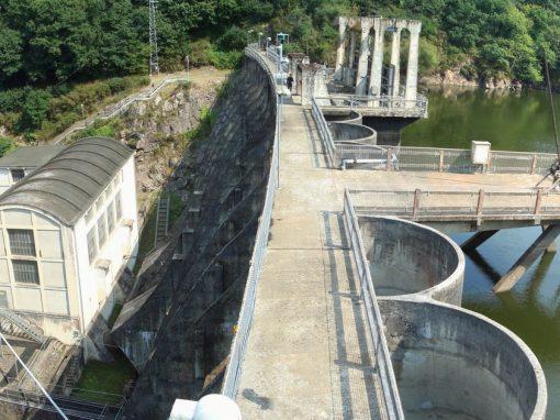Barrage et centrale hydroélectrique de Rophémel (22) – France