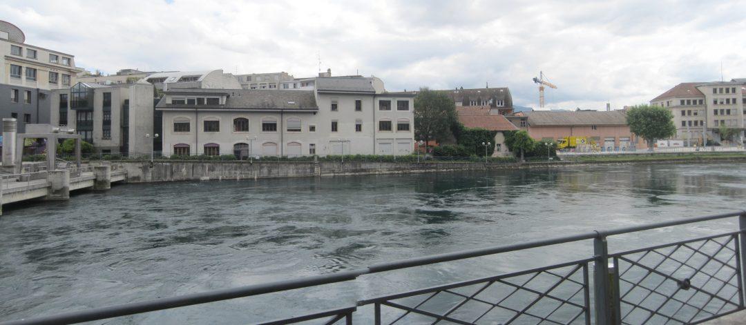 Etude de protection contre les crues en ville de Genève – Suisse