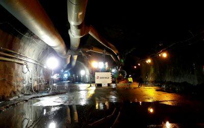 Fin du creusement du nouveau tronçon du Grand tunnel du Chambon