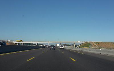 Inauguration de l'autoroute A9 à Montpellier