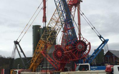 Démarrage des chantiers de parois moulées sur le T3a