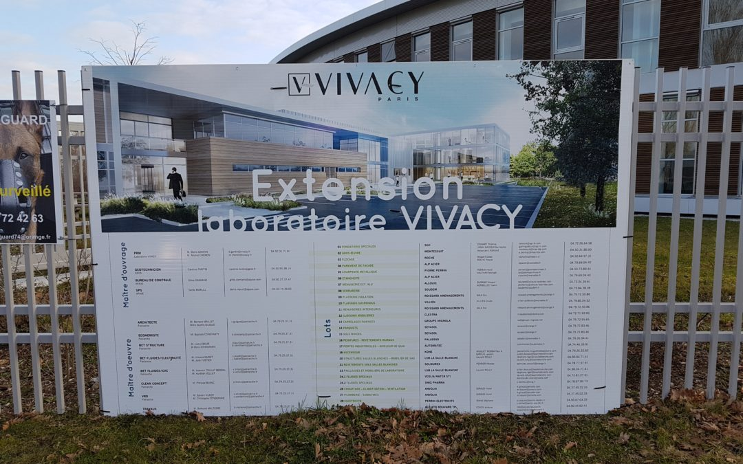 Extension du laboratoire VIVACY – Archamps (74)