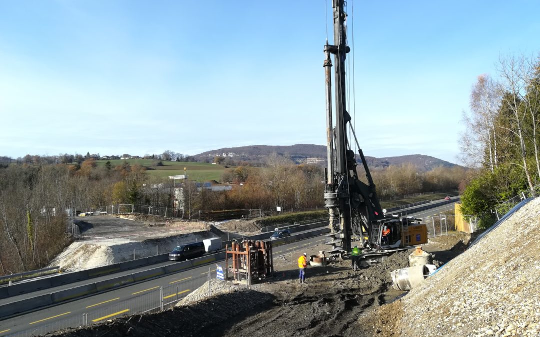Elargissement mise à 2×3 voies de l'A41 Nord (Haute-Savoie)