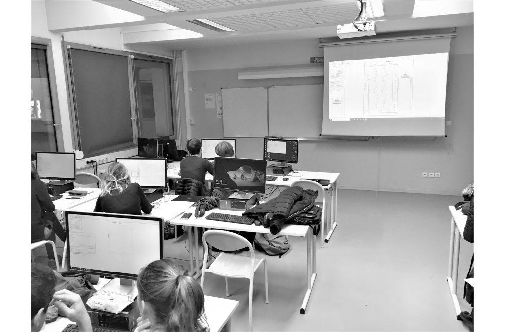 Formation aux étudiants de l'ENSG