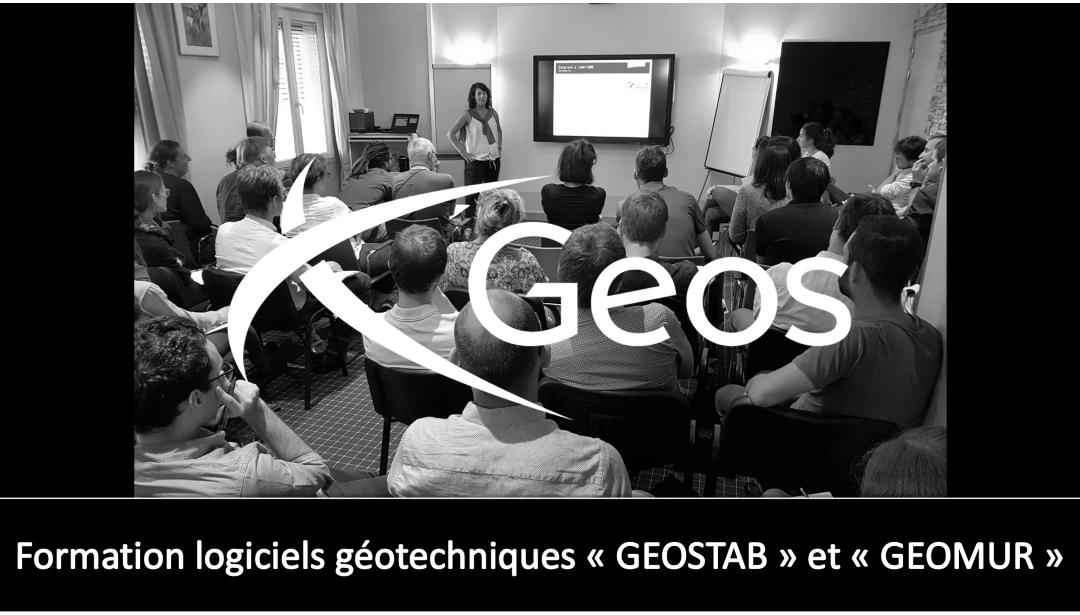 formation GEOSTAB et GEOMUR 27 et 28 mars 2019
