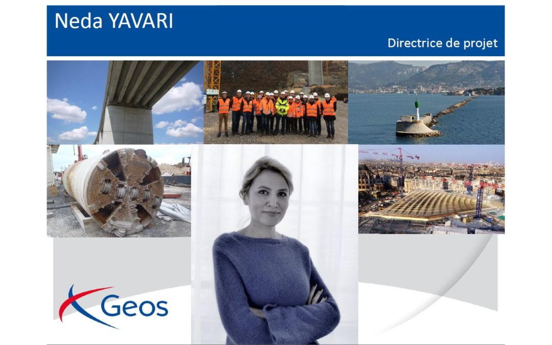 GEOS est heureux d'annoncer l'arrivée de Neda Yavari
