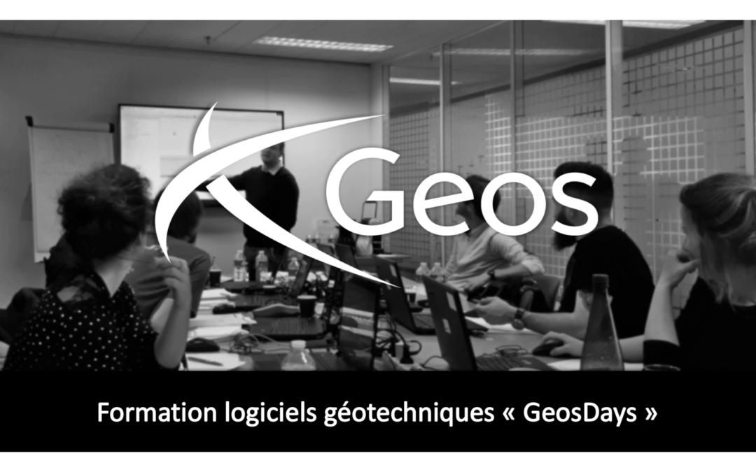 GEOSDAYS – Rueil-Malmaison (92) – Mai 2021